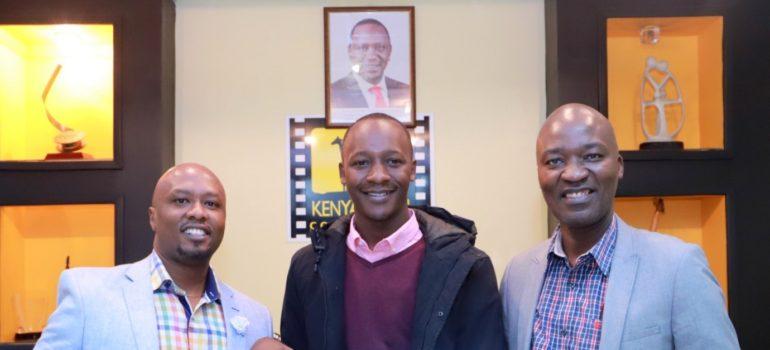 Kenyan Filmmaker Mark Ayabei Feted In California, Usa