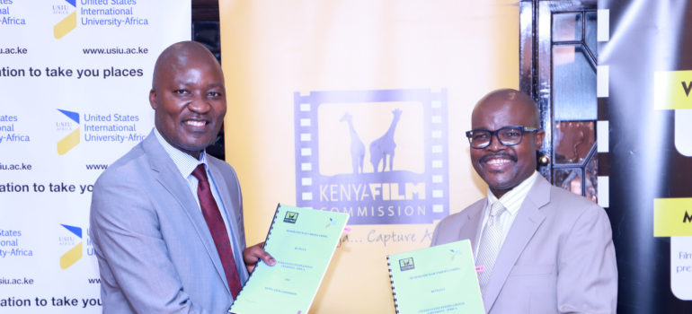 Kenya Film Commission Signs Mou With United States International University Africa To Promote Film