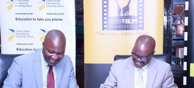Kenya Film Commission (KFC) Signs A Memorandum Of Understanding With Daystar University