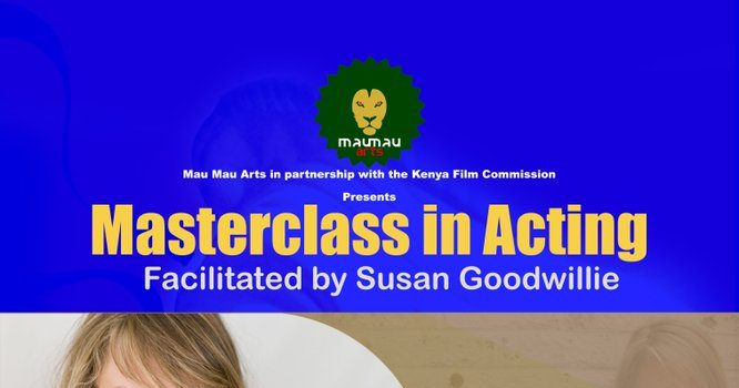 KENYA FILM COMMISSION PARTNERS WITH MAU MAU ARTS IN AN ACTING MASTERCLASS