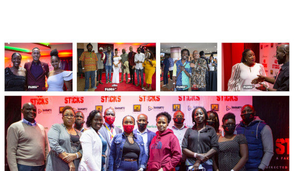 "KENYA FILM COMMISSION (KFC) HOSTS THE PREMIERE OF ""40 STICKS"" FEATURE FILM AHEAD OF ITS NETFLIX RELEASE"