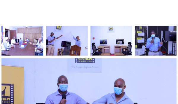 KENYA FILM COMMISSION LAUNCHES GAMING AND ANIMATION EQUIPMENT AT SWAHILI POT HUB, MOMBASA COUNTY