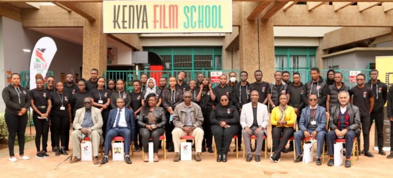 KENYA FILM COMMISSION SEEKS PARTNERSHIP WITH KENYA FILM SCHOOL TO BUILD CAPACITY FOR KENYA'S AUDIOVISUAL INDUSTRY
